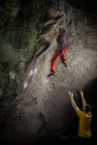 Resurrection, V9, Photo Brian Golstone